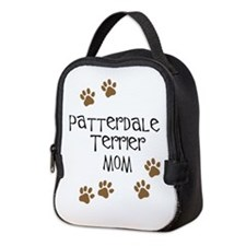 Patterdale Terrier Mom Neoprene Lunch Bag