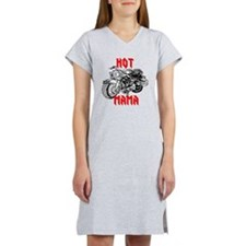 HOT MOTORCYCLE MAMA Women's Nightshirt