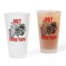 HOT GRAND-MAMA Drinking Glass