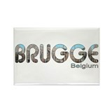 Brugge, Belgium Rectangle Magnet (100 pack)