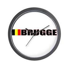 Brugge, Belgium Wall Clock