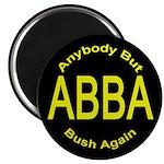 Anybody But Bush Again Magnet