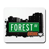 Forest Av, Bronx, NYC Mousepad
