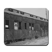 Abandoned Train Car Mousepad
