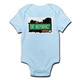 Fort Independence St, Bronx, NYC Infant Bodysuit