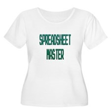 Spreadsheet Master Plus Size T-Shirt