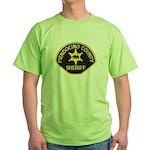Mendocino County Sheriff Green T-Shirt