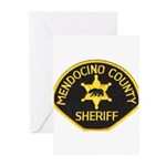 Mendocino County Sheriff Greeting Cards (Package o
