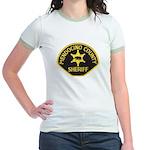 Mendocino County Sheriff Jr. Ringer T-Shirt