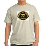 Mendocino County Sheriff Light T-Shirt