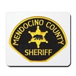 Mendocino County Sheriff Mousepad