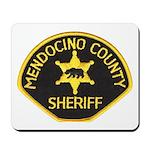 Mendocino County Sheriff Mousepad