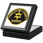 Mendocino County Sheriff Keepsake Box