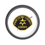 Mendocino County Sheriff Wall Clock