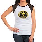 Mendocino County Sheriff Women's Cap Sleeve T-Shir