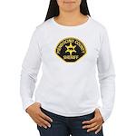 Mendocino County Sheriff Women's Long Sleeve T-Shi