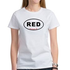 Red Bank T-shirts Euro Oval Tee