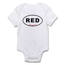 Red Bank T-shirts Euro Oval Infant Bodysuit