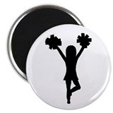 Cheer Gear Magnet