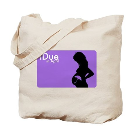 iDue April Tote Bag
