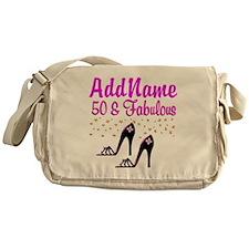 50TH SHOE QUEEN Messenger Bag