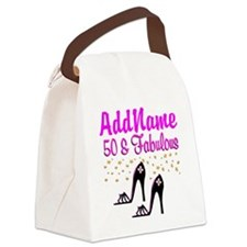 50TH SHOE QUEEN Canvas Lunch Bag