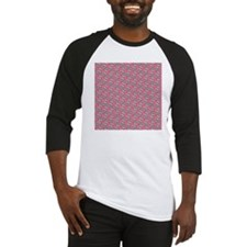 Sugar Skull Day of the Dead Pink Baseball Jersey