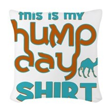This is my Hump Day Woven Throw Pillow