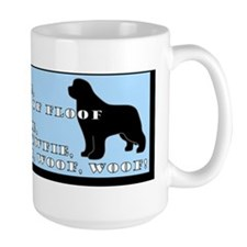 Soft Newfie Warm Newfie Bumper Coffee Mug