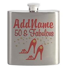 FANTASTIC 50TH Flask