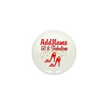 FANTASTIC 50TH Mini Button (10 pack)