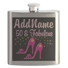 TERRIFIC 50TH Flask