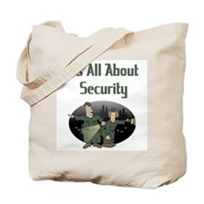 Security Guard / Bouncer Tote Bag