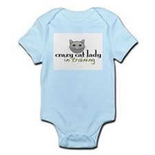 Cat Lady Training Infant Bodysuit