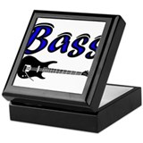 Bass Guitar Keepsake Box
