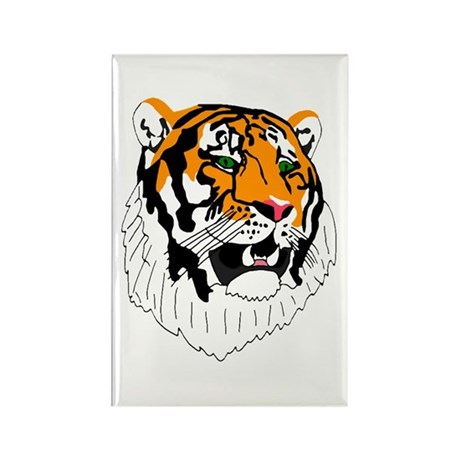 Tiger Rectangle Magnet (10 pack)