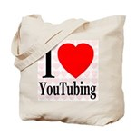 I Love YouTubing Tote Bag