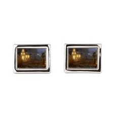 Haunted Halloween Village Cufflinks
