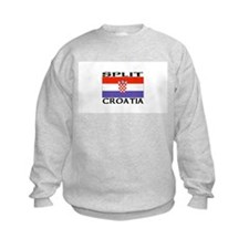 Split, Croatia Sweatshirt