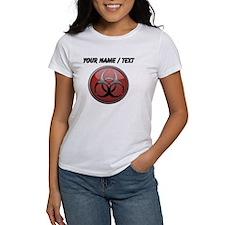 Custom Biohazard Symbol T-Shirt