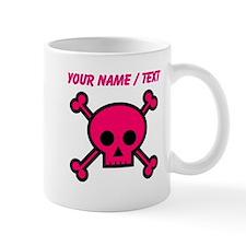Custom Pink Skull Mugs
