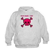 Custom Pink Skull Hoody