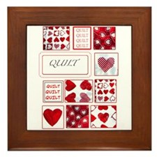 Love to Quilt Framed Tile