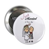 Just Married 30 years ago Button