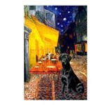 Cafe & Black Lab Postcards (Package of 8)