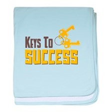 Keys To Success baby blanket