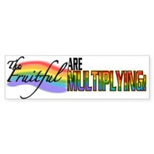 Fruitful Bumper Bumper Sticker