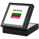 Sofia, Bulgaria Keepsake Box