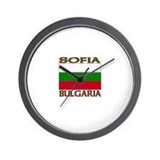 Sofia, Bulgaria Wall Clock