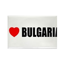 I Love Bulgaria Rectangle Magnet